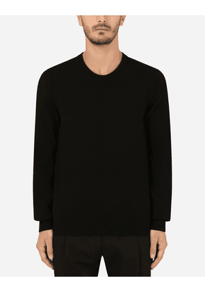 Dolce & Gabbana Collection - Cashmere round-neck sweater BLACK male 44