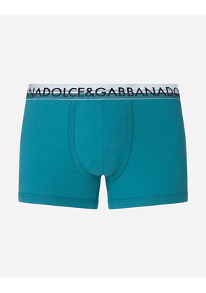 Dolce & Gabbana Collection - Stretch pima cotton boxers AZURE male 7