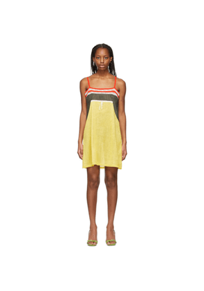 Cormio Black and Yellow Emilie Dress