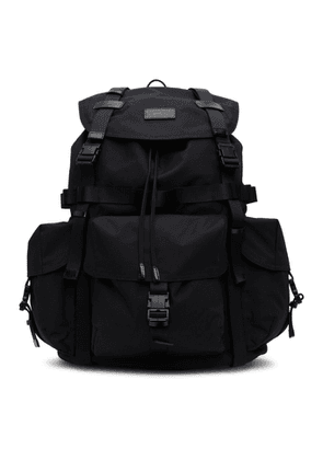 Juun.J Black Military Backpack