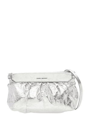 Luzes Metallic Leather  Shoulder Bag