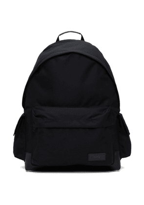 Juun.J Black Canvas Side-Pocket Backpack