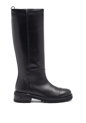 Malone Souliers - Beda Leather Knee-high Boots - Womens - Black