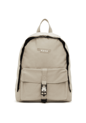 ADER error Beige Duct Tape Backpack