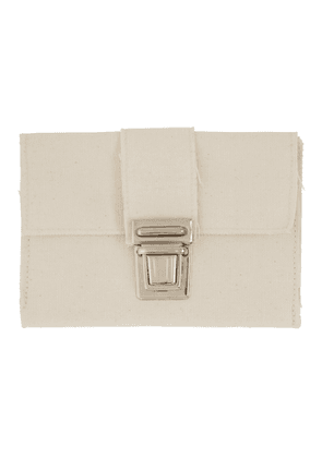 Camiel Fortgens Off-White Canvas Wallet