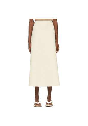 Arch The Beige Straight Skirt