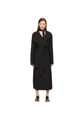 Lemaire Black Trench Dress