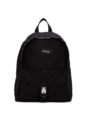 ADER error Black Duct Tape Backpack