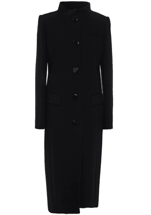 Givenchy Wool-crepe Coat Woman Black Size 38
