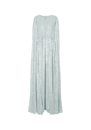 Kenley sequined organza gown