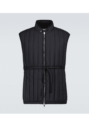 Down-filled Worker gilet