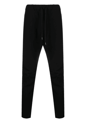 Attachment cropped track trousers - Black