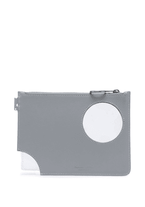 Off-White Meteor pouch bag - Grey