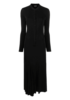 TOM FORD knitted maxi dress - Black