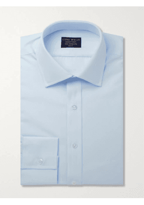 EMMA WILLIS - Blue Cotton Shirt - Men - Blue - UK/US 15