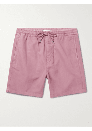 MR P. - Linen and Cotton-Blend Drawstring Shorts - Men - Pink - UK/US 32