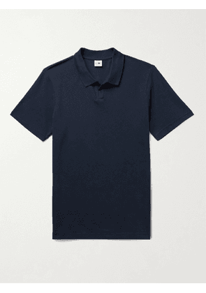 NN07 - Paul Cotton and Modal-Blend Piqué Polo Shirt - Men - Blue - S
