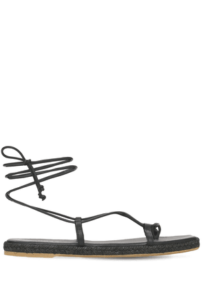 10mm Tribe Leather Thong Sandals
