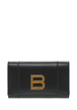 Hourglass  Leather Wallet