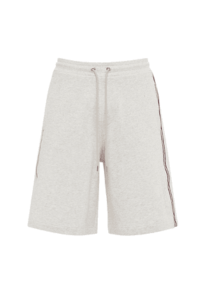 Cotton French Terry Shorts W/ Side Bands