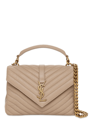 Medium Collège Quilted Leather Bag
