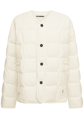 Recycled Nylon Quilted Puffer Jacket