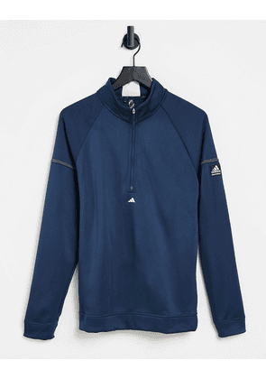 adidas Golf EQT quarter zip top in navy