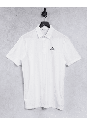 adidas Golf ultimate 365 polo shirt in white