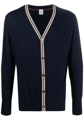 Eleventy button front cardigan - Blue