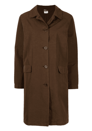 Aspesi single-breasted coat - Brown
