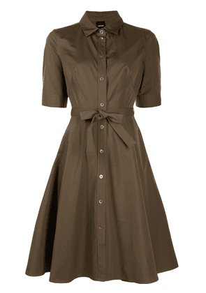 Aspesi A-line shirt dress - Green