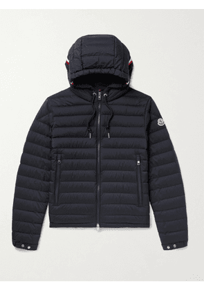 MONCLER - Eus Slim-Fit Quilted Nylon Down Hooded Jacket - Men - Blue - 2