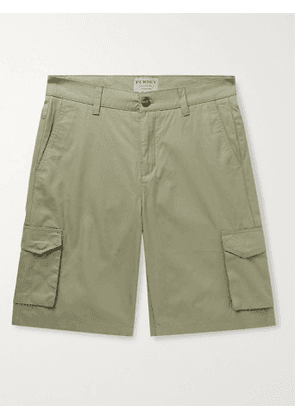 PURDEY - Cotton-Ventile Cargo Shorts - Men - Green - UK/US 30