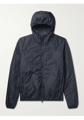ASPESI - Quilted Shell Jacket - Men - Blue - XS