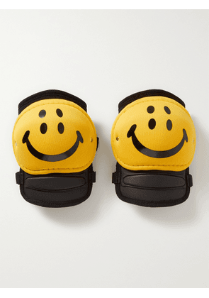 KAPITAL - Rain Smiley Printed Knee Pads - Men - Yellow