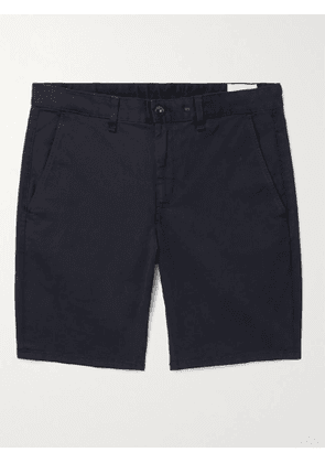 RAG & BONE - Cotton-Blend Twill Chino Shorts - Men - Blue - UK/US 30