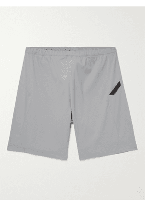 AFFIX - Flex Wide-Leg Stretch-Shell Shorts - Men - Gray - XS