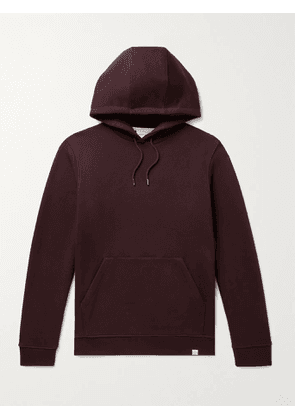 NORSE PROJECTS - Vagn Loopback Cotton-Jersey Hoodie - Men - Brown - XS