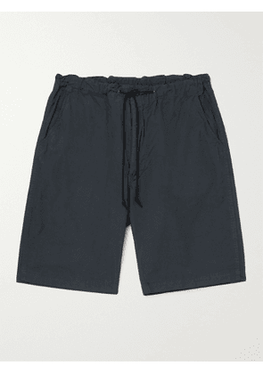 ORSLOW - New Yorker Cotton Drawstring Shorts - Men - Gray - 1
