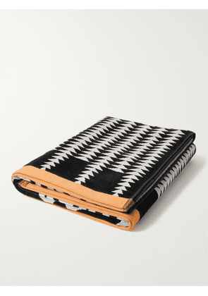 Pendleton - Cotton-Terry Jacquard Beach Towel - Men - Black