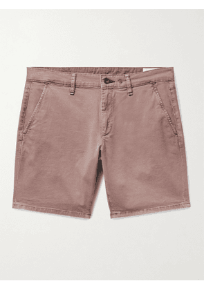 RAG & BONE - Supima Cotton-Blend Twill Chino Shorts - Men - Brown - UK/US 34