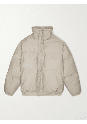 FEAR OF GOD ESSENTIALS - Quilted Padded Cotton and Nylon-Blend Jacket - Men - Green - M