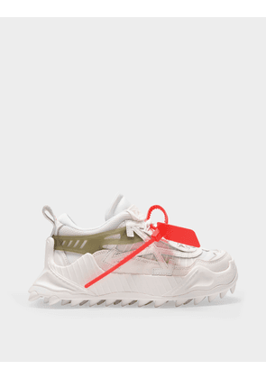 Off-White Odsy-1000 Sneakers in White and Light Grey