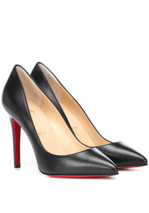 Pigalle 100 leather pumps