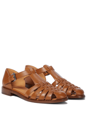Kelsey leather sandals