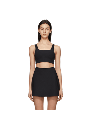 Girlfriend Collective Black Tommy Sports Bra
