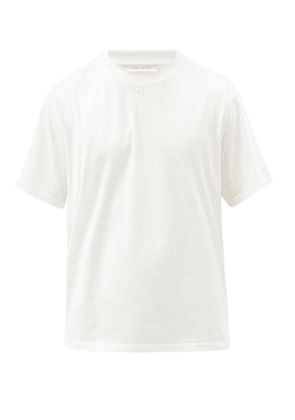Craig Green - Embroidered-hole Cotton-jersey T-shirt - Mens - White