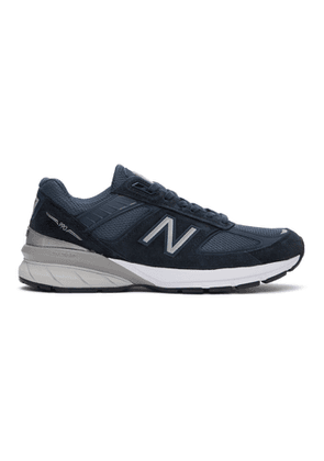 New Balance Navy Made In US 990 v5 Sneakers