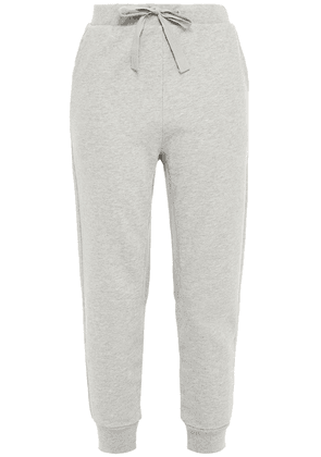 Frame Organic French Pima Cotton-terry Track Pants Woman Gray Size M