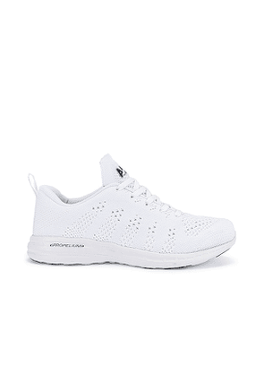 APL: Athletic Propulsion Labs TechLoom Pro Sneaker in White. Size 7.5, 8.5.